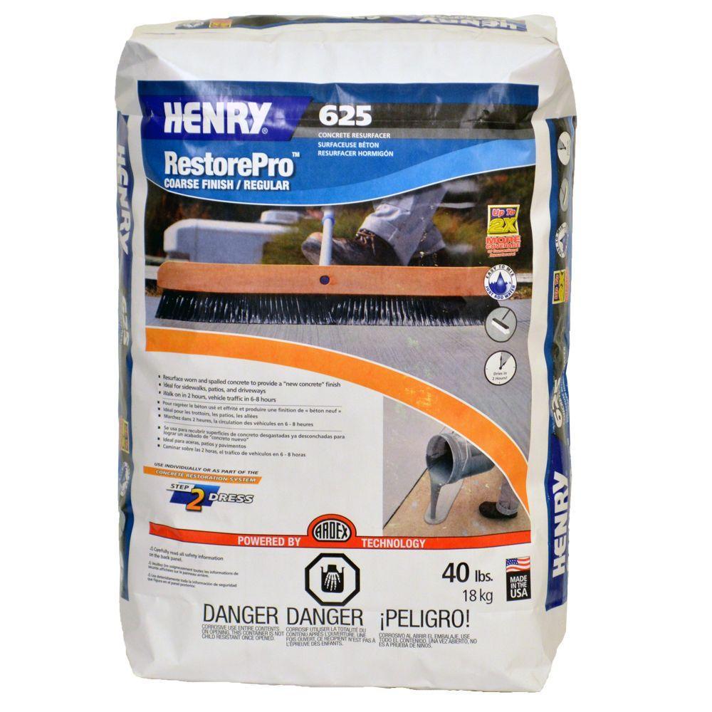 625 40 lb. RestorePro Concrete Resufacer