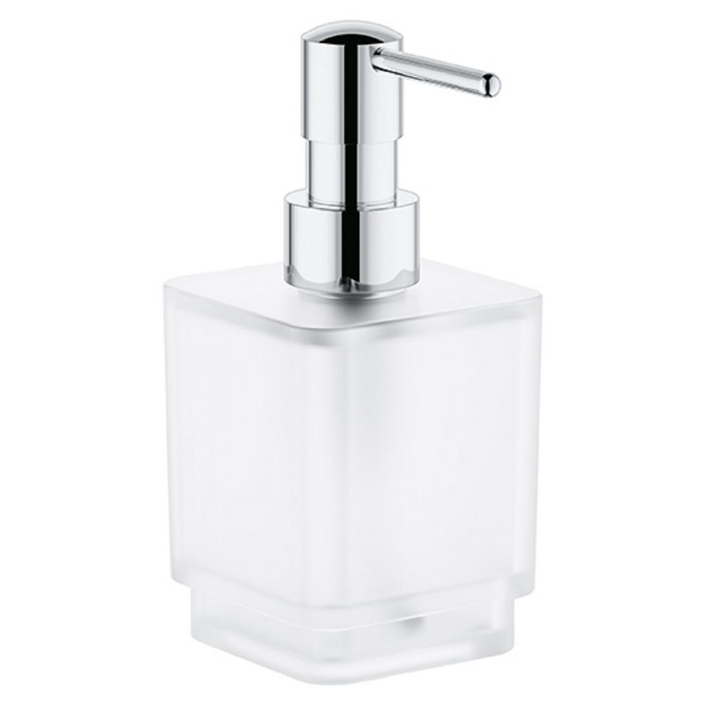 Selection Cube Soap Dispenser in Chrome