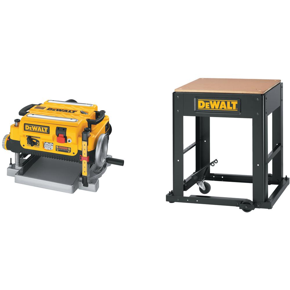 DEWALT 15 Amp 13 in. Corded Planer with Bonus Stand on home depot kiln, home depot screw driver, home depot table, home depot chipper, home depot car polisher, home depot online catalog, home depot spindle, home depot impact driver, home depot seeder, home depot hydraulic press, home depot cut off machine, home depot trailer, home depot crane, home depot breaker, home depot mower, home depot dewalt combo kit, home depot woodworking, home depot turf cutter, home depot tiller, home depot pump,