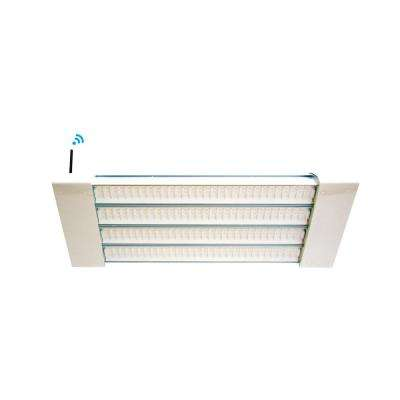 100-Watt 2 ft. White Integrated LED Linear High Bay Fixture with Natural Light (5000K)