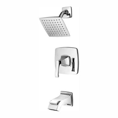 Venturi Single-Handle 1-Spray Tub and Shower Faucet in Polished Chrome (Valve Included)