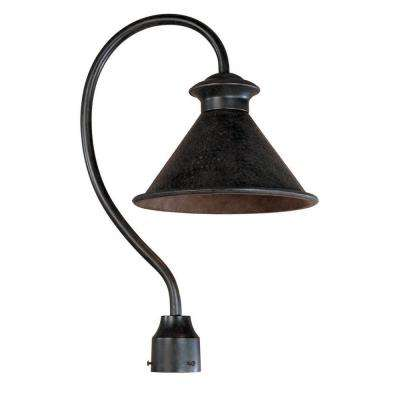 Dark Sky Essen 1-Light Outdoor Bronze Post Lamp