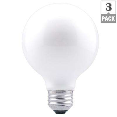 40-Watt Double Life G25 Incandescent Light Bulb (3-Pack)