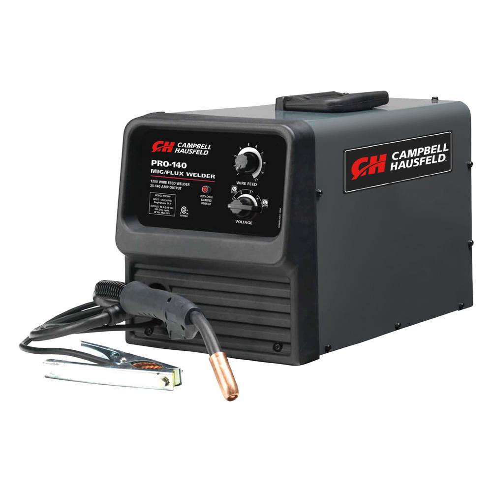 Campbell Hausfeld 120-Volt 140 Amp MIG/Flux-WG309000AJ - The