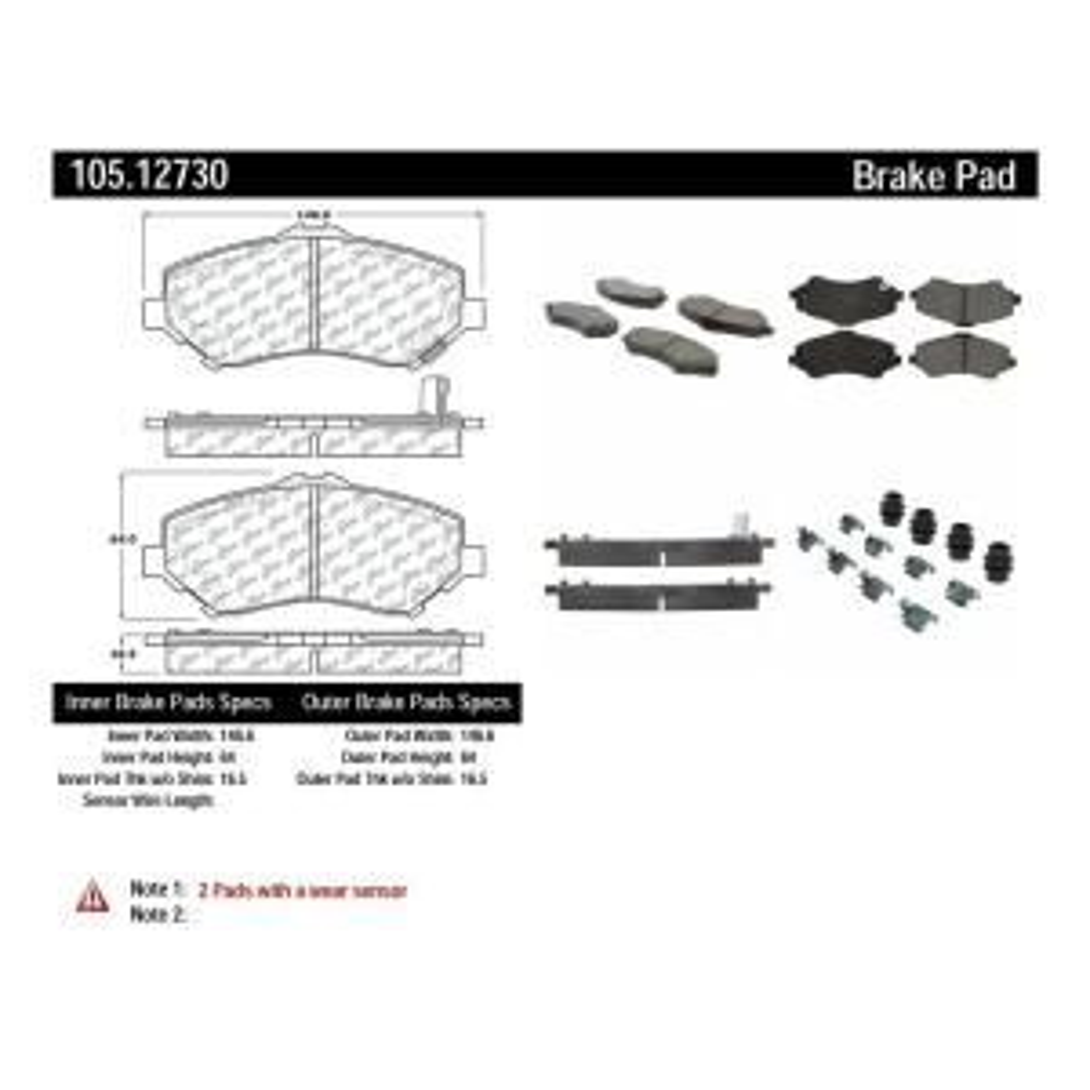 Centric 103.13510 Brake Pad