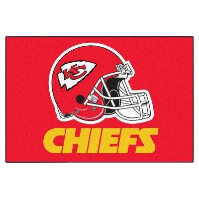 Kansas City Chiefs 19 in. x 30 in. Accent Rug
