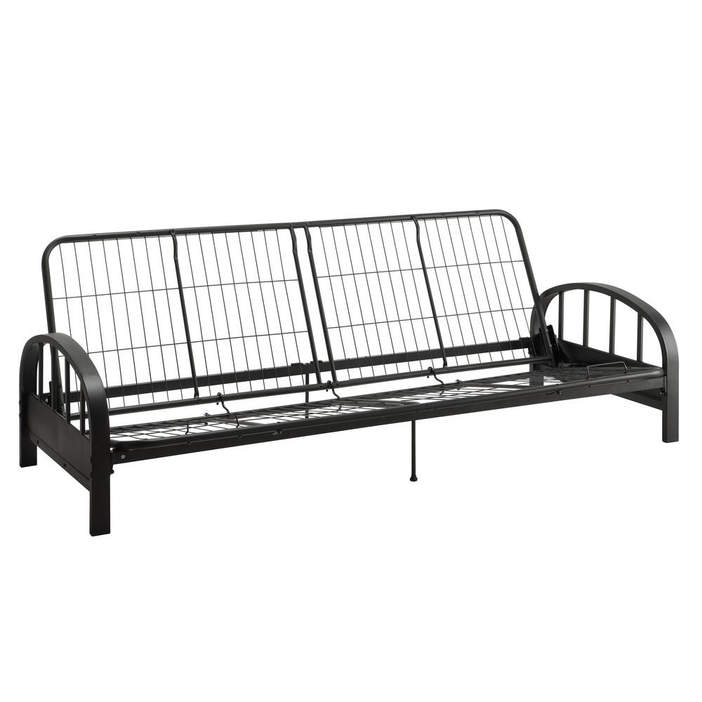 Dhp Ali Black Futon Frame De32512 The