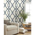 Magnolia Home by Joanna Gaines 56 sq.ft. Woven Trellis Wallpaper