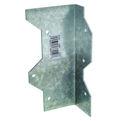 5 in. 16-Gauge Galvanized Reinforcing L Angle