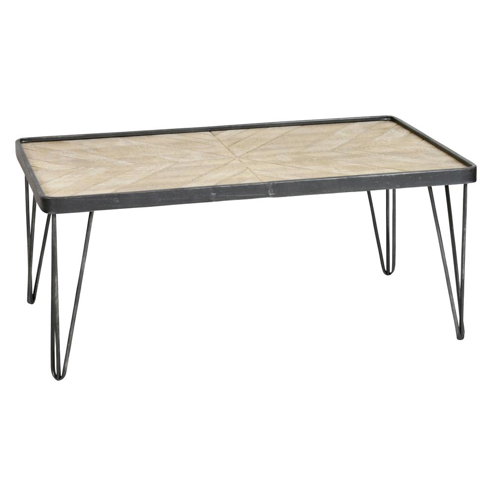 Felton Gray Cocktail Table