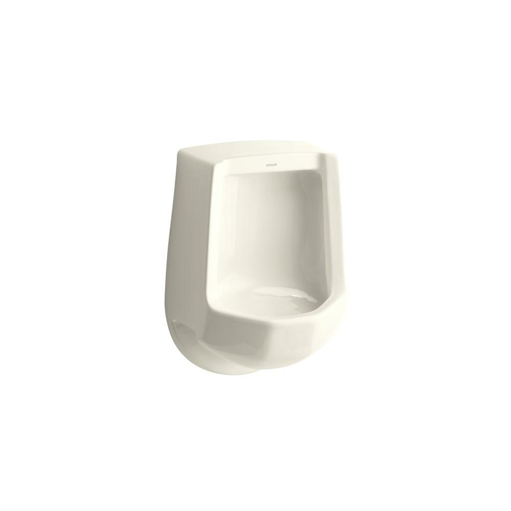 KOHLER Freshman 1.0 GPF Urinal with Rear Spud in Biscuit