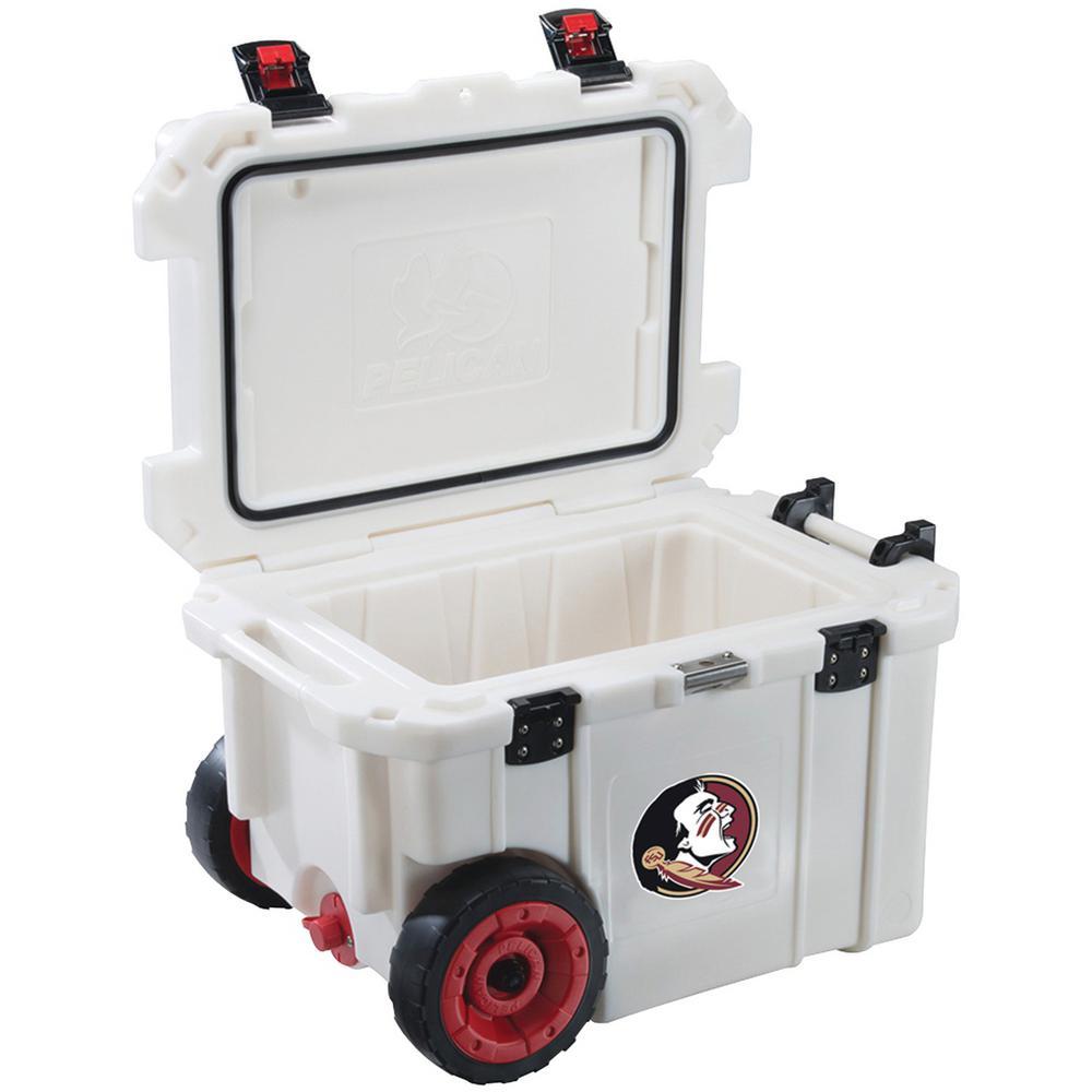45 Qt. Florida State University Seminoles Elite Wheeled Cooler