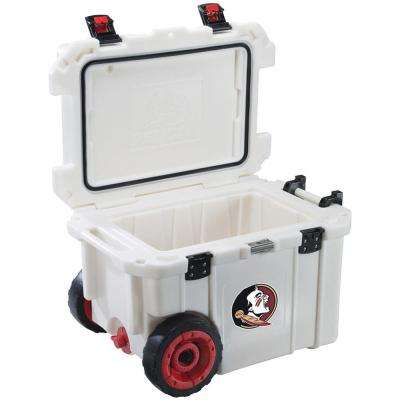 45 Qt. Florida State University Seminoles Elite Wheeled Cooler