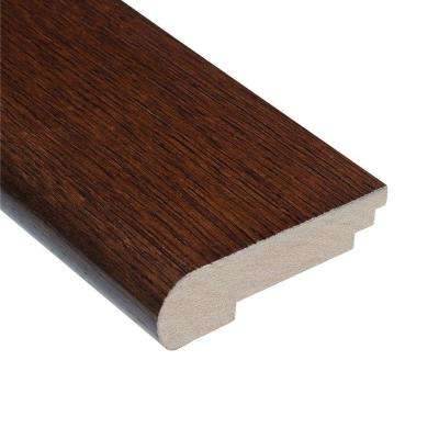 Teak Huntington 3/8 in. Thick x 3-1/2 in. Wide x 78 in. Length Hardwood Stair Nose Molding