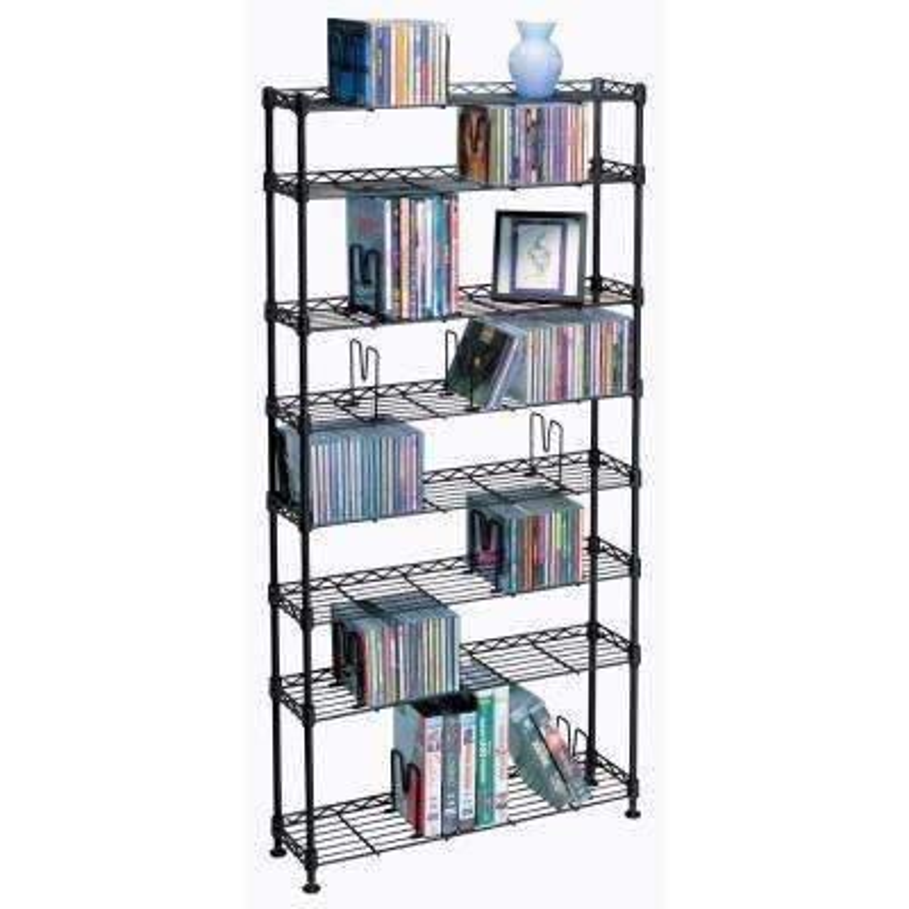 Maxsteel Black Bookcase