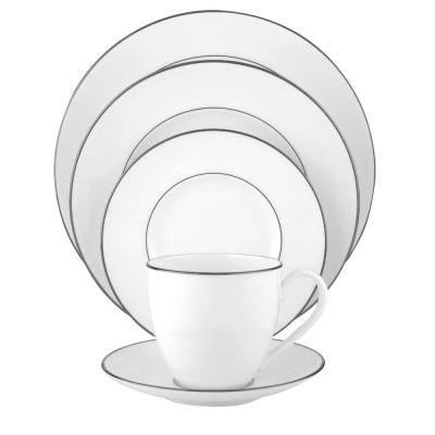 Continental Dining 5-Piece Platinum  Dinnerware Set