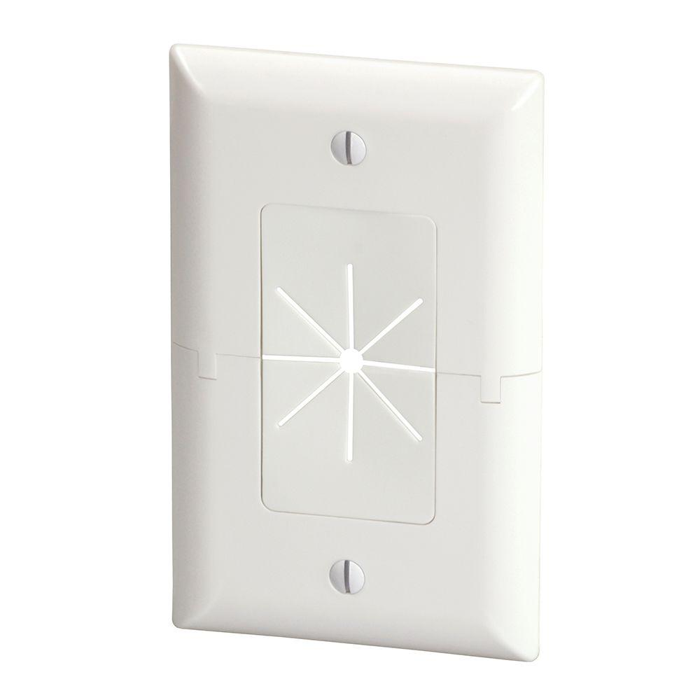 Audio & Video Wall Plates - Wall Plates - The Home Depot