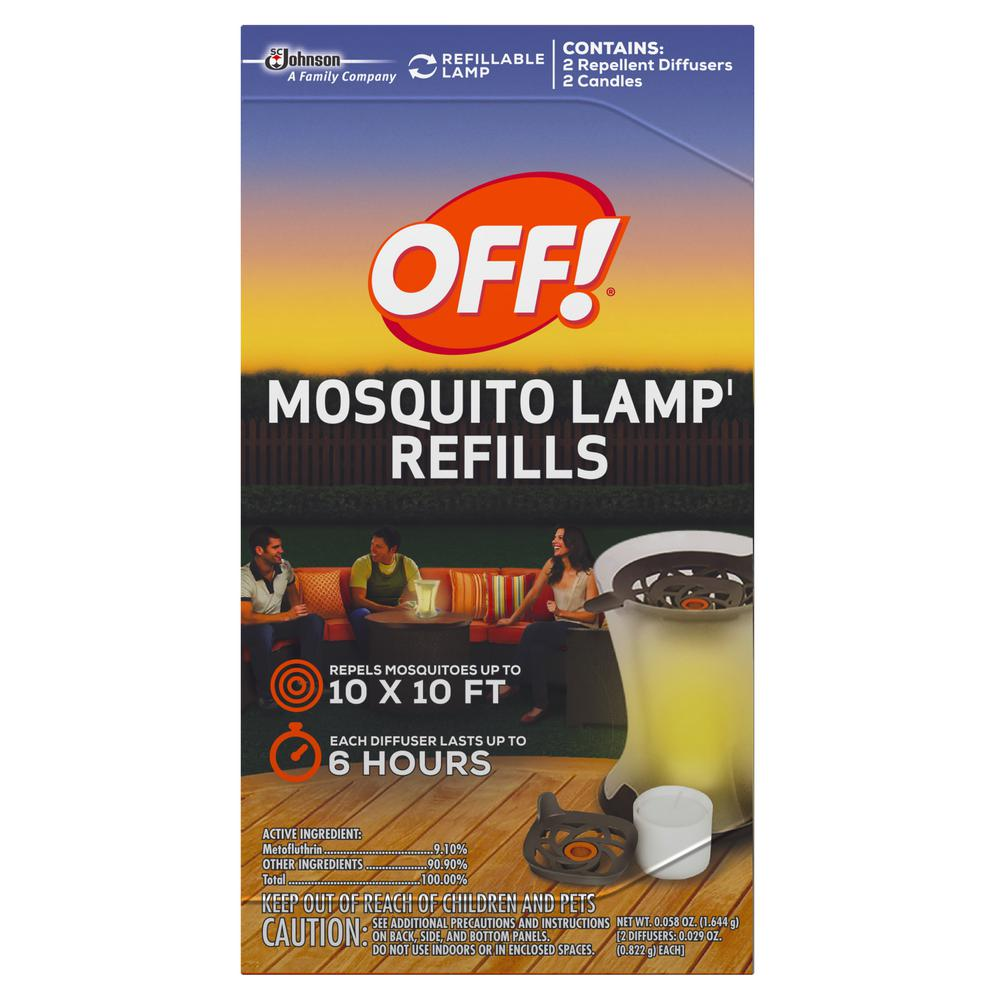 OFF! Mosquito Lamp Refill (2 Pack)