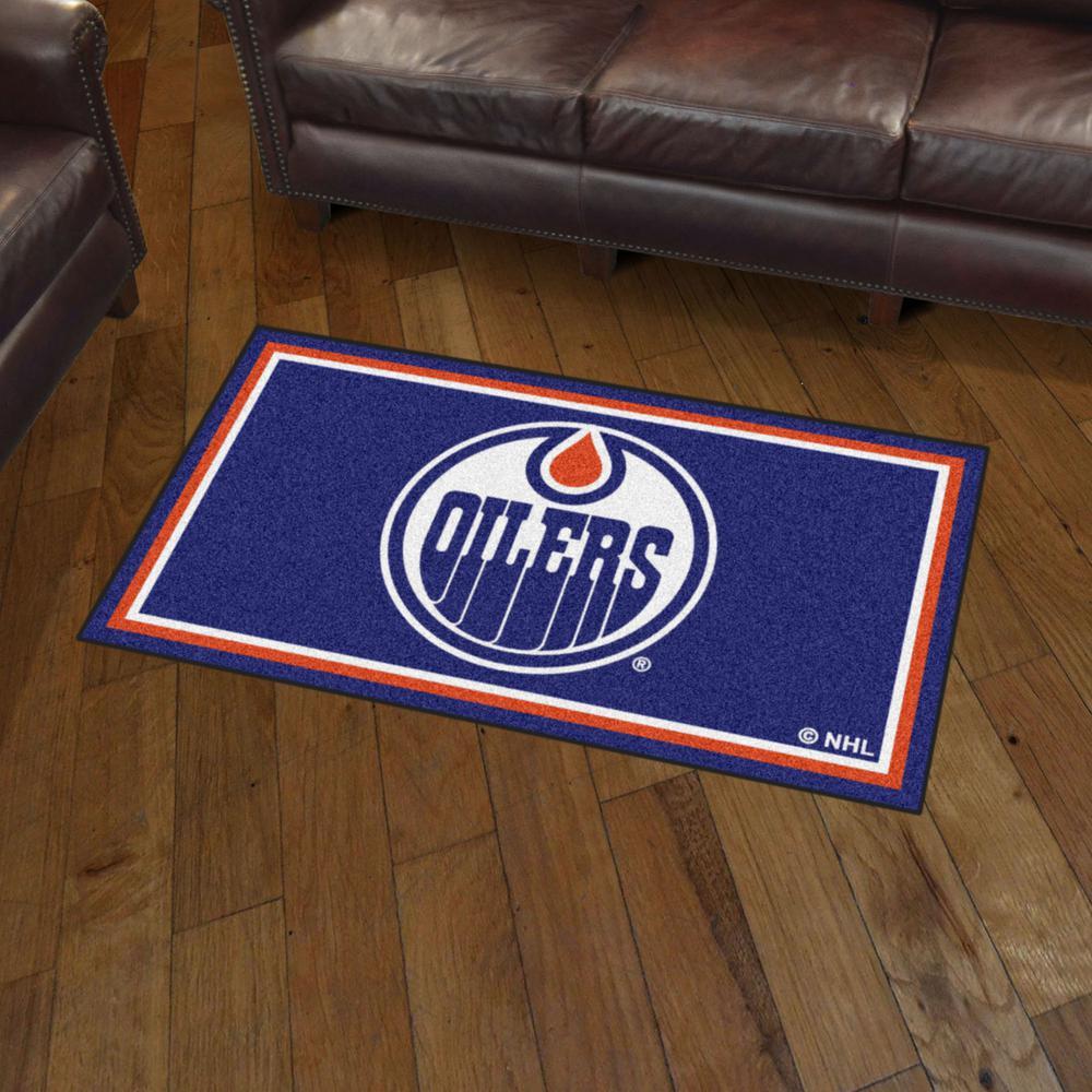 Fanmats Nhl Edmonton Oilers 3 Ft X 5