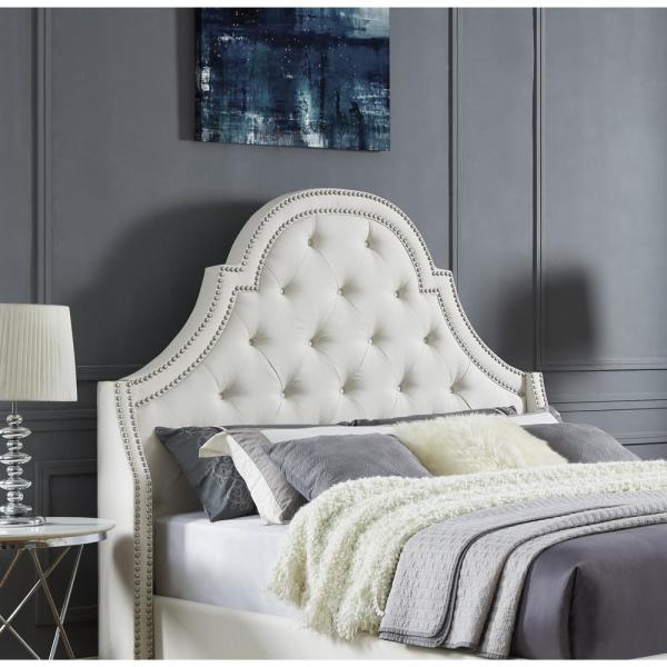 On Tufted Queen Headboard