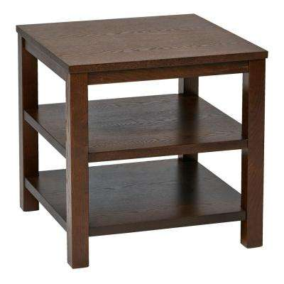 Merge Espresso End Table