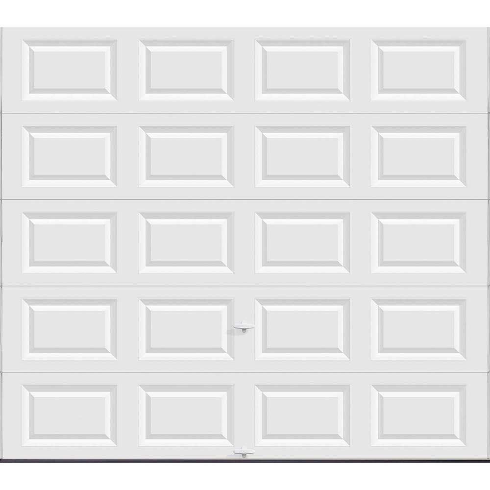 Charmant Clopay Classic Collection 15 Ft. 6 In. X 7 Ft. Non Insulated Solid White Garage  Door HDB_SW_SOL   The Home Depot