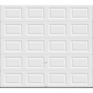 Ordinaire Non Insulated Solid White Garage Door