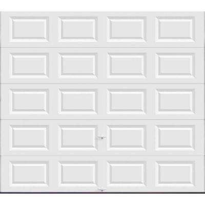 Clic Collection 9 Ft X 8 Non Insulated Solid White Garage Door