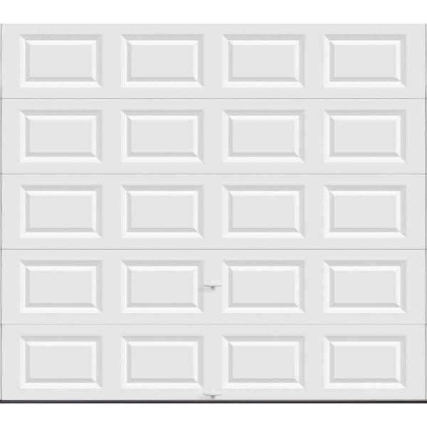 Classic Collection 9 ft. x 8 ft. Non-Insulated Solid White Garage Door
