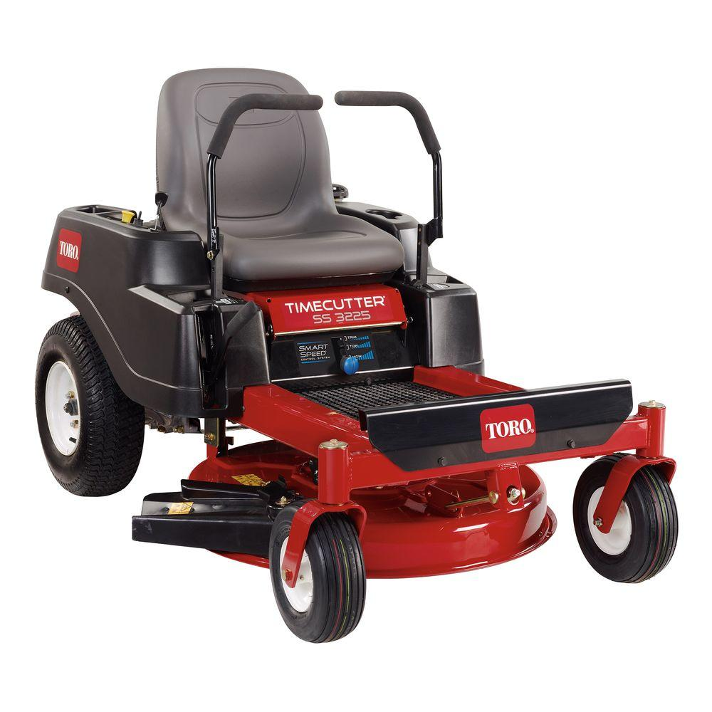 Toro Timecutter Ss3225 32 In 452cc Gas Zero Turn Riding Mower With Smart Sd