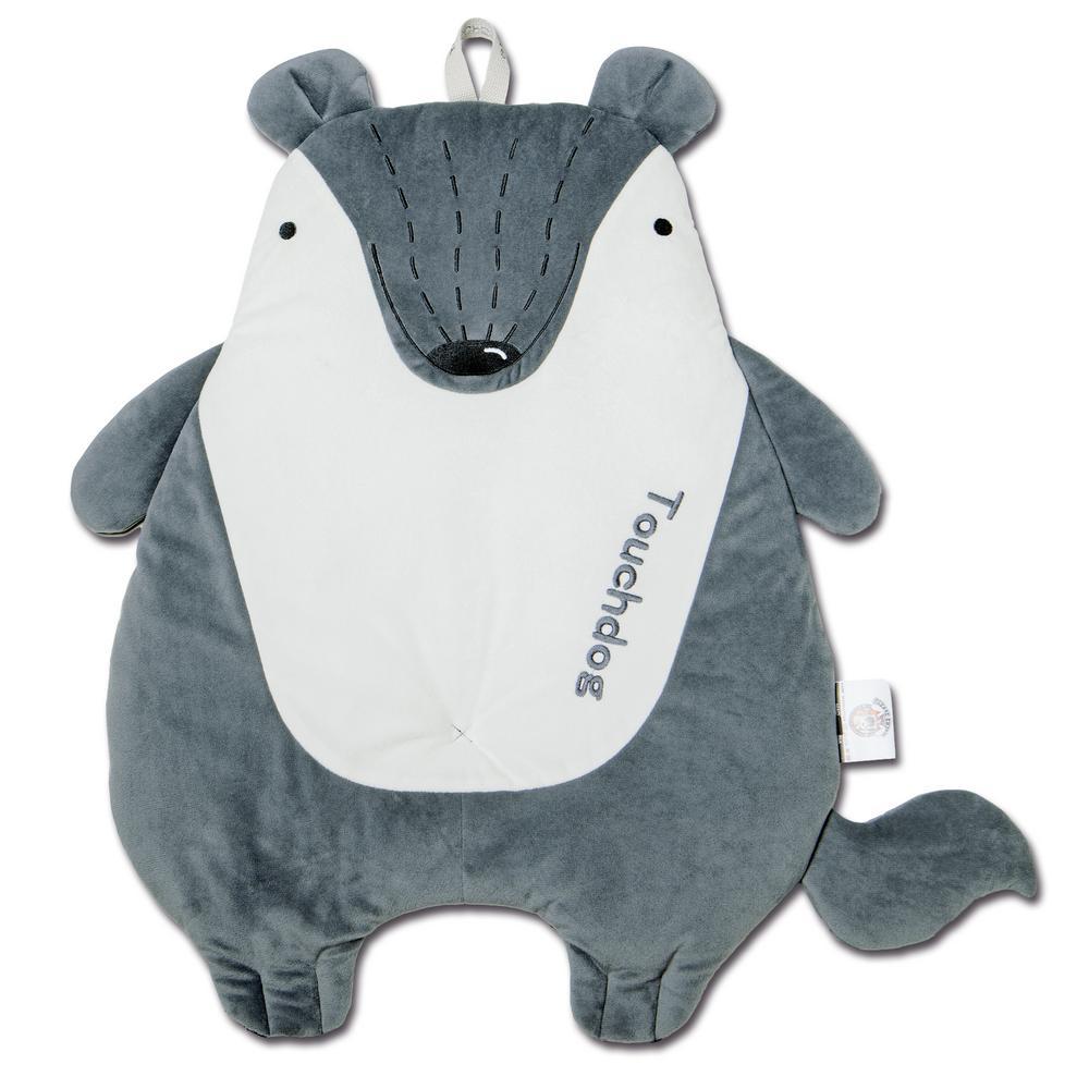 One Size Grey Critter Hugz Designer Character Dog Mats