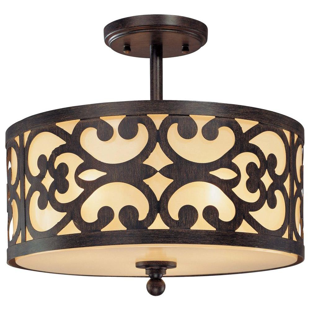 Minka lavery nanti 3 light iron oxide semi flush mount light 1498 minka lavery nanti 3 light iron oxide semi flush mount light aloadofball Choice Image