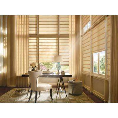 Installed Hunter Douglas Vignette Modern Roman Shades