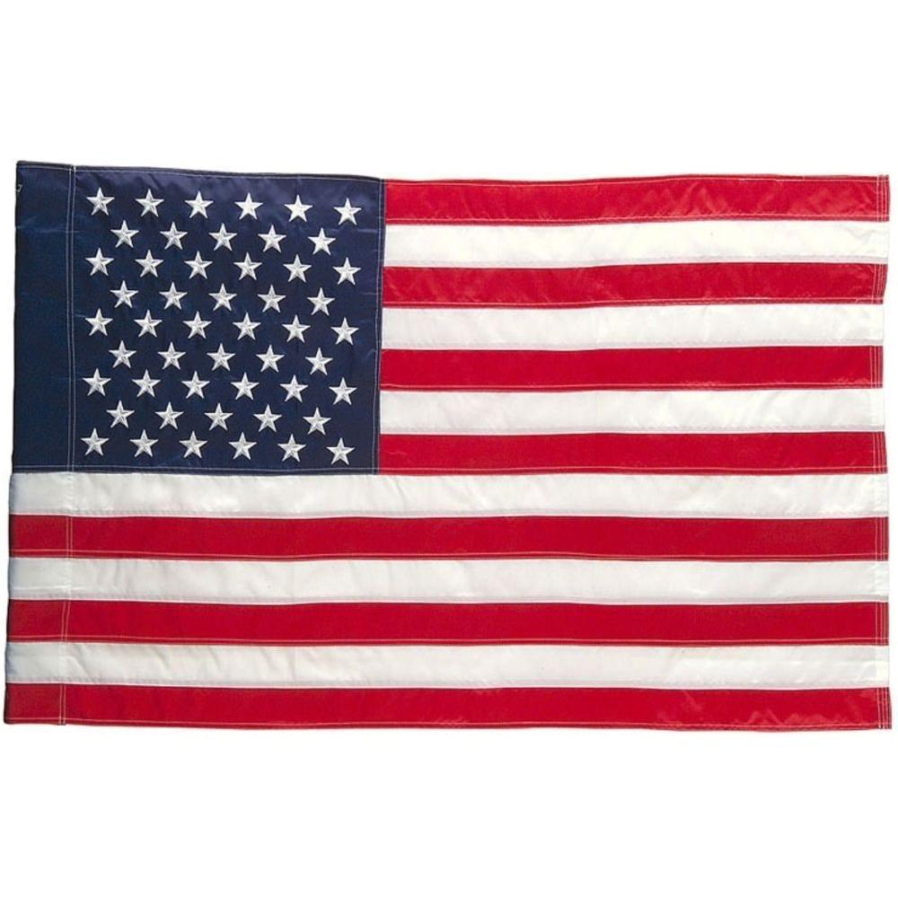 Evergreen Enterprises 18 in. x 12-1/2 in. U.S. Garden Flag