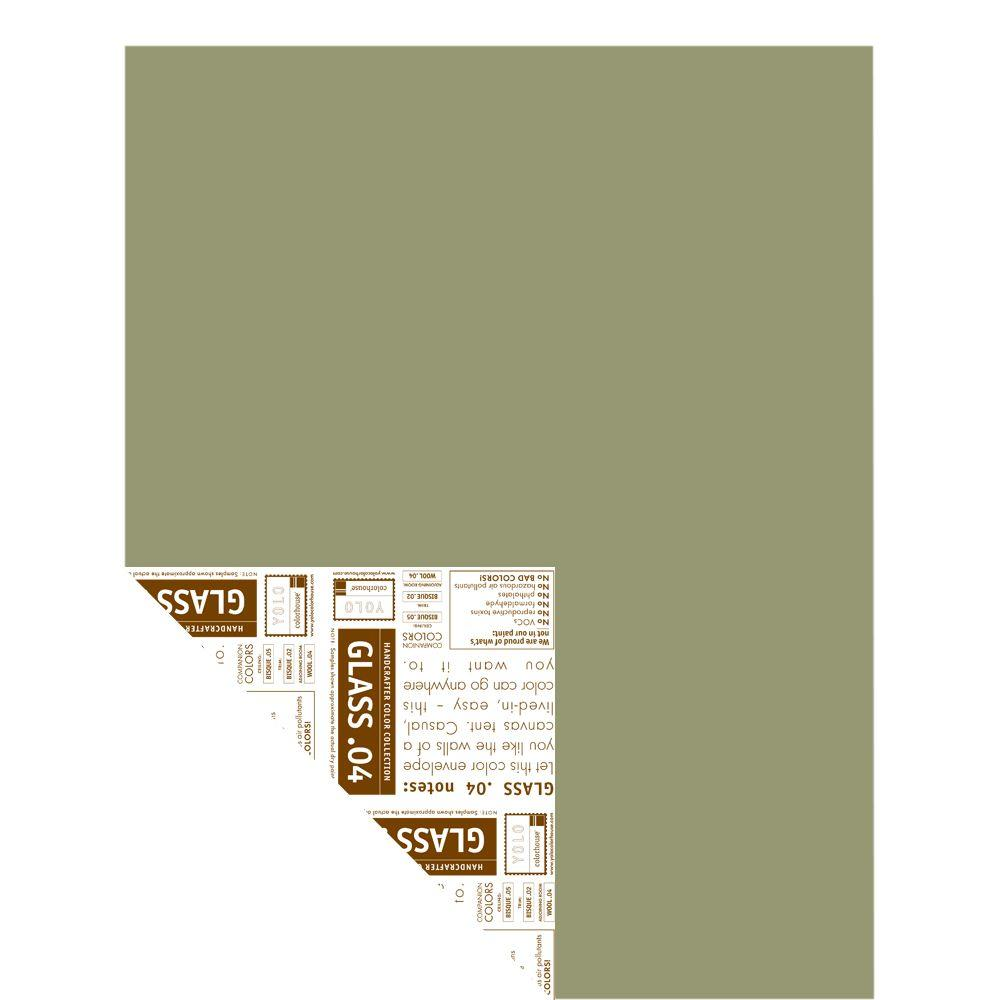 YOLO Colorhouse 12 in. x 16 in. Glass .04 Pre-Painted Big Chip Sample