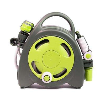Aquabag 1 in. x 38 ft. Lime Mini Portable Hose and Reel