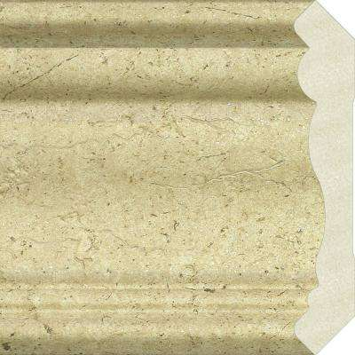 Upscale Designs 0.75 in. x 4.35 in. x 72 in. Polystyrene Crown Moulding - 60 lin. ft. (10-Pieces)