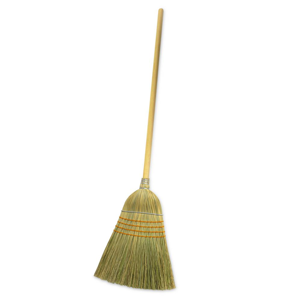 Hdx Giant Commercial Corn Broom 750 The Home Depot