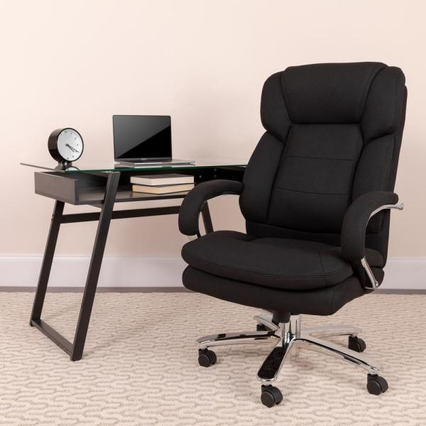 Flash Furniture Black Fabric Office/Desk Chair