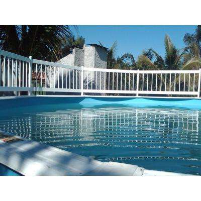 Above Ground Pool Safety Fence Base Kit A (8 Fence Sections)