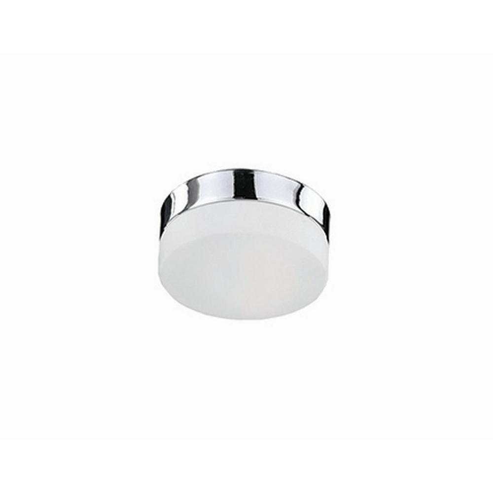 Radionic Hi Tech Rochester Chrome 40-Watt Equivalence Integrated LED Ceiling Flush Mount
