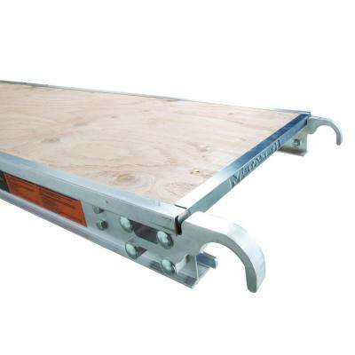 7 ft. x 1.7 ft. Aluminum Platform with Plywood Deck and Reinforced Edge Capping