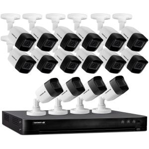 Deals on Defender Ultra HD 4K (8MP) 16 Channel 4TB DVR Security Camera System