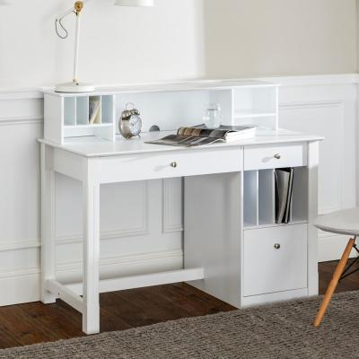 White - Desks - Home Office Furniture - The Home Depot