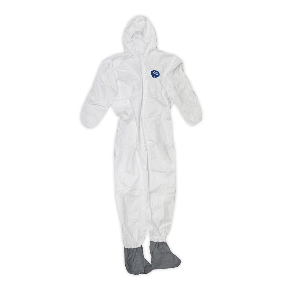 8c8546534166c8 Trimaco DuPont Tyvek XL Painters Coverall with Hood and Boots-141232 ...