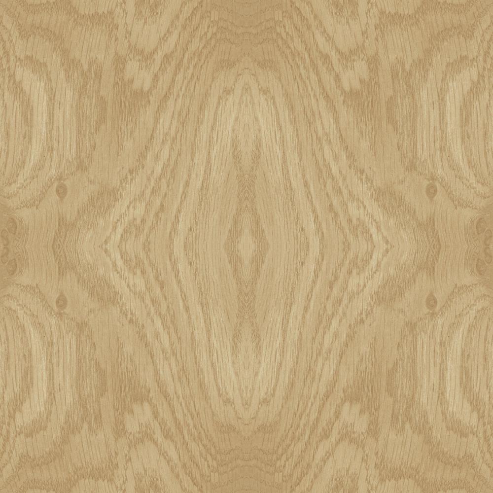 56.9 sq. ft. Driftwood Grain Wallpaper