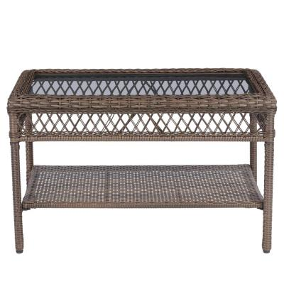 Mix and Match Wicker Outdoor Patio Coffee Table
