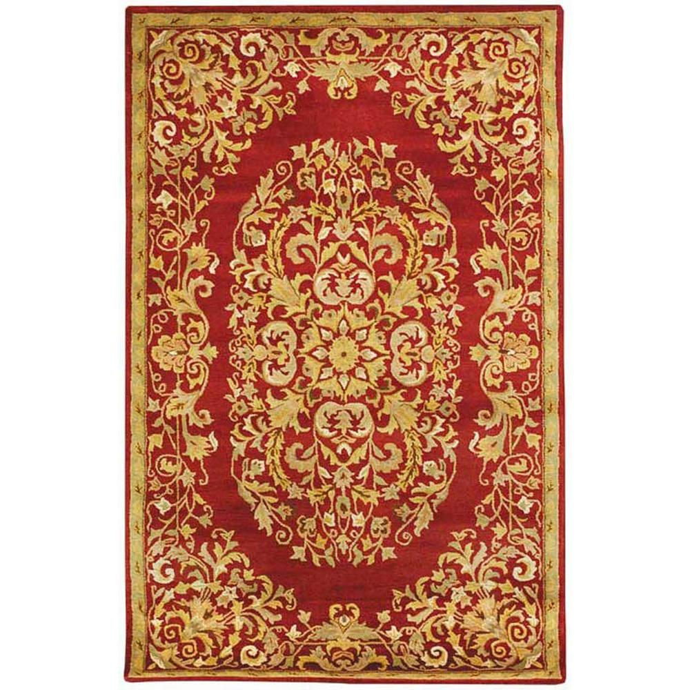 Safavieh Heritage Red 8 ft. 3 in. x 11 ft. Area Rug