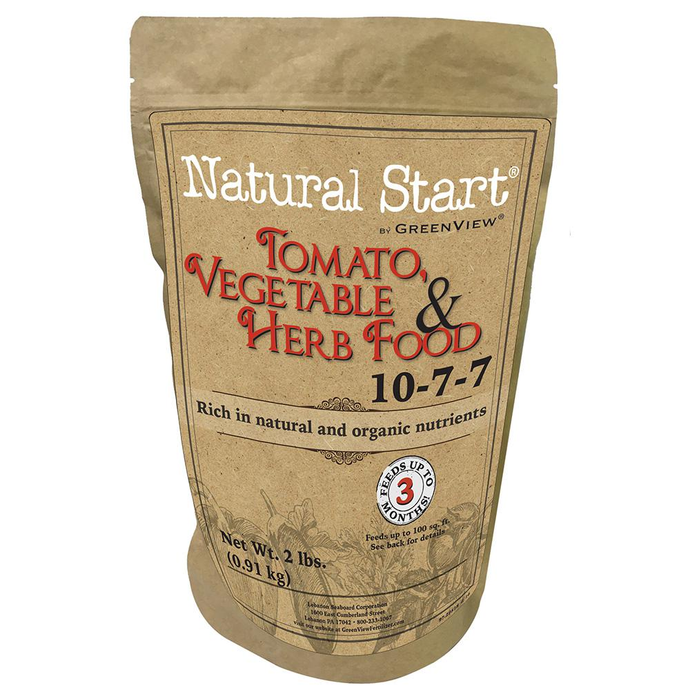 Natural Start 2 lbs. Tomato, Vegetable and Herb Food