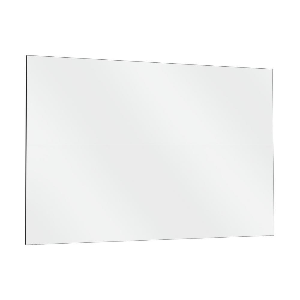 Rectangle Frameless Flat Polish Mirror, 40 X 60 Frameless Mirror
